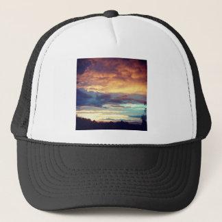 Evening bliss trucker hat