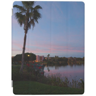 Evening By The Palm Tree iPad Cover