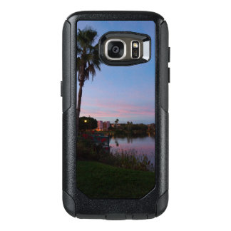 Evening By The Palm Tree OtterBox Samsung Galaxy S7 Case
