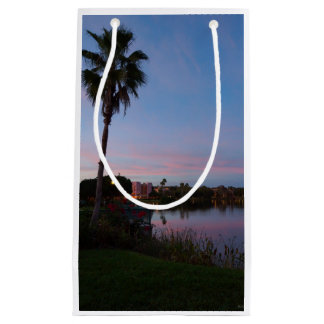 Evening By The Palm Tree Small Gift Bag