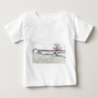 Evening By The Pond Baby T-Shirt