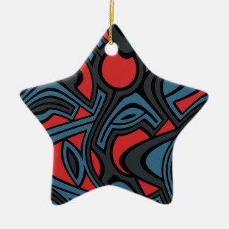 Evening Ceramic Ornament