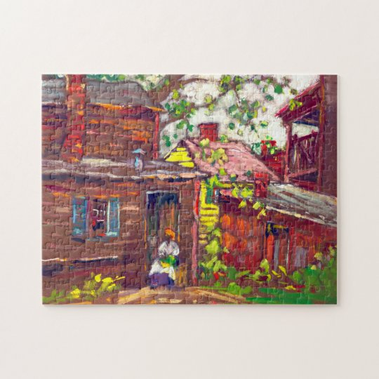 Evening Chore 1910 Jigsaw Puzzle