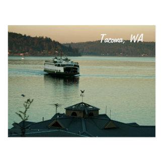 Evening Ferry Postcard