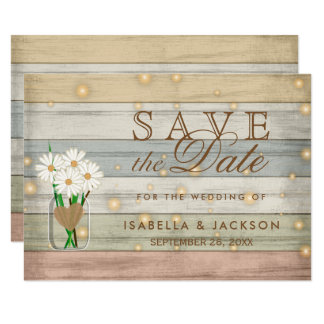 Evening Firefly Save the Date Design Card