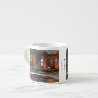 """""""Evening Flowers"""" espresso mug"""