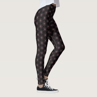 Evening Flowers Floating Leggings