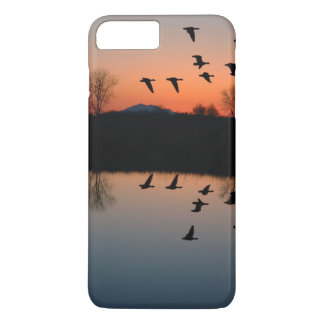 Evening Geese iPhone 7 Plus Case
