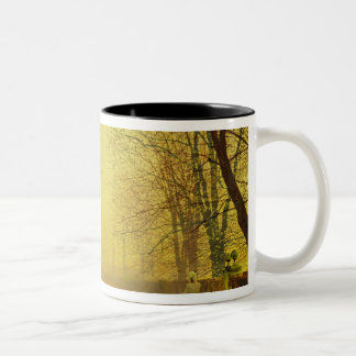Evening Glow, c.1884 (oil on canvas) Two-Tone Coffee Mug