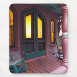 Evening Glow-Martha's Vineyard Gingerbread Cottage Mouse Pad