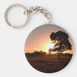 Evening Gold Keychain