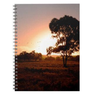 Evening Gold Notebook