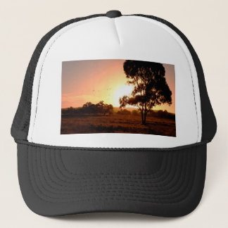 Evening Gold Trucker Hat