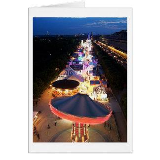 Evening in Paris Card