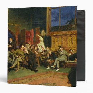 Evening in the Studio with my Students, 1886 Binder