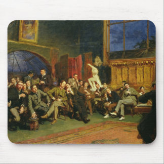 Evening in the Studio with my Students, 1886 Mouse Pad
