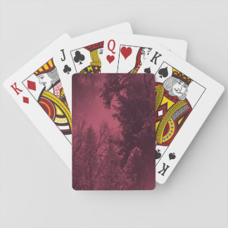 Evening in the Winter time... Playing Cards