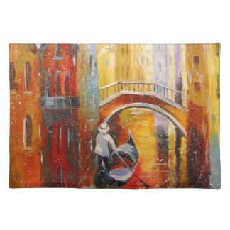 Evening in Venice Placemat