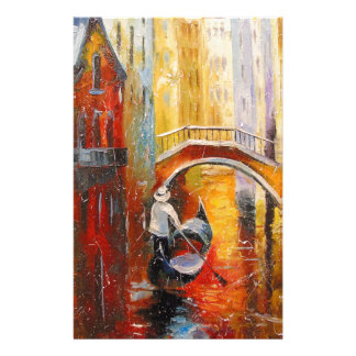 Evening in Venice Stationery