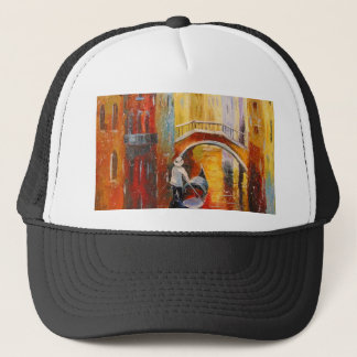 Evening in Venice Trucker Hat