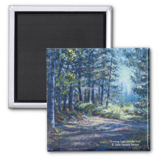 """Evening Light On the Trail"" Magnet"