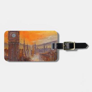 Evening London Luggage Tag