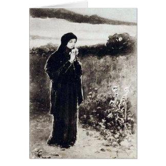 Evening Peace - Wilhelm Kotarbinski Card