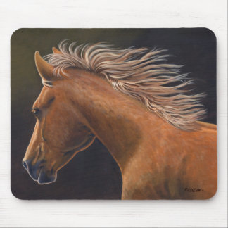 """Evening Run"" Quarter Horse - Mouse Pad"