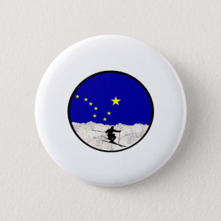 Evening Rush 2 Inch Round Button
