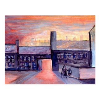 Evening Shadows Postcard