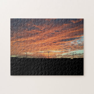 Evening sky 11x14 Photo Puzzle with Gift Box