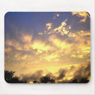 evening smoke mouse pad