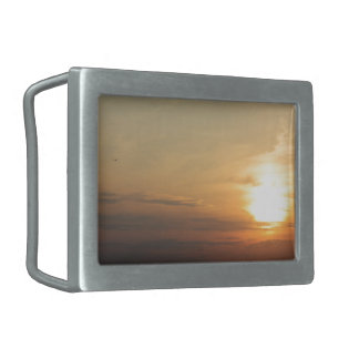 Evening Sunset Accessories / Merchandise Rectangular Belt Buckle