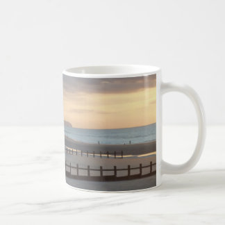 Evening Sunset on the Beach Coffee Mug