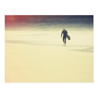 Evening Surfer Postcard