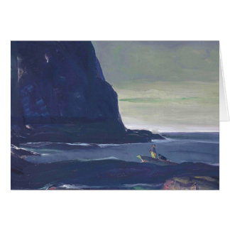 Evening Swell by George Bellows Card
