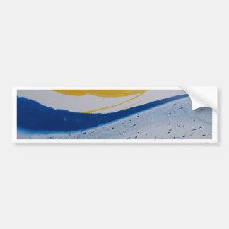 Evening tide bumper sticker