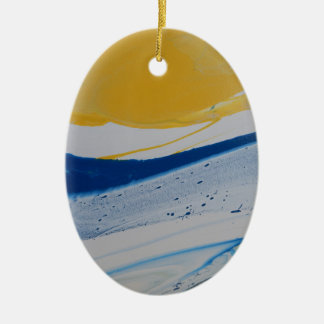 Evening Tide Ceramic Ornament