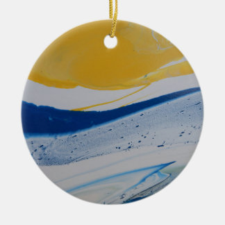 Evening Tide Ceramic Ornament