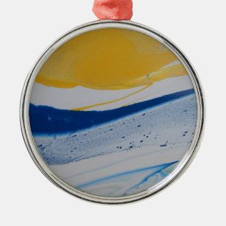 Evening Tide Metal Ornament