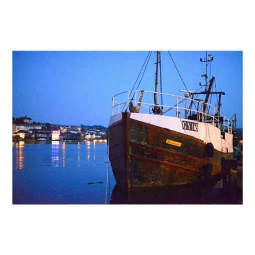 Evening Tide on River Torridge Photo Print