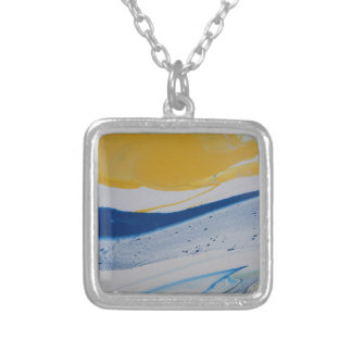 Evening Tide Silver Plated Necklace