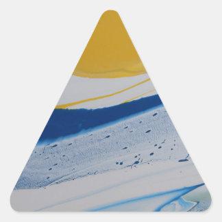 Evening Tide Triangle Sticker