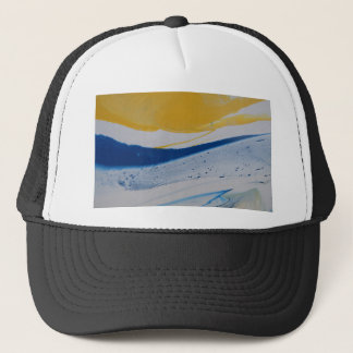 Evening tide trucker hat