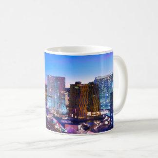 Evening View Of Las Vegas Coffee Mug