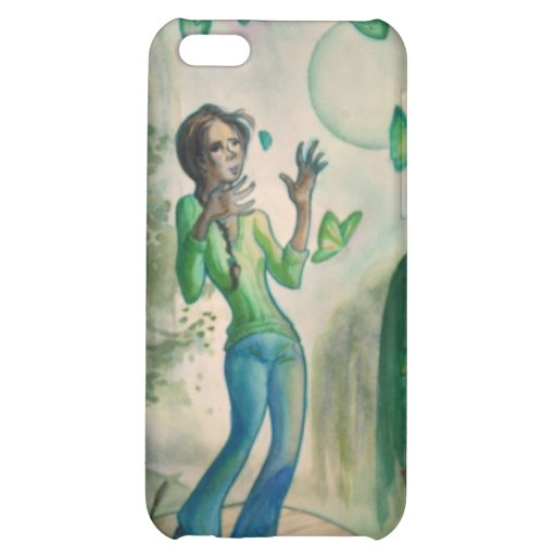 Evening With Butterflies iPhone 5C Covers