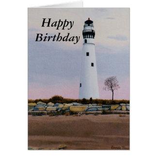 Evening's Light Birthday Card