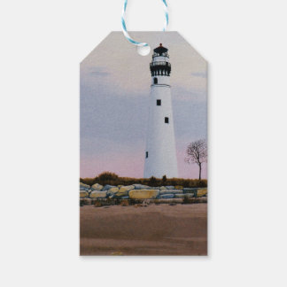 Evening's Lighthouse Pack Of Gift Tags