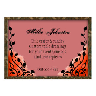 event decorator pack of chubby business cards
