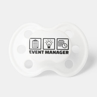 Event manager pacifier
